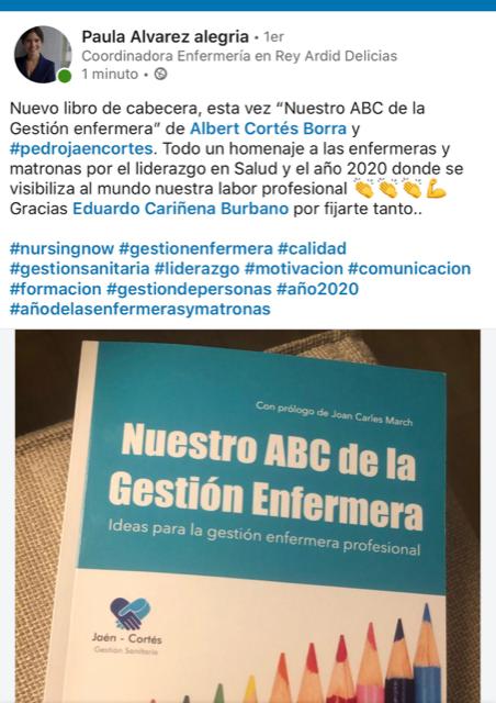 Repercusiones de Nuestro ABC de la gestión enfermera
