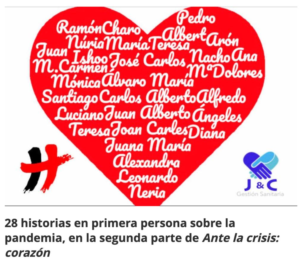 Ante la crisis: corazón 2 en Diario Enfermero